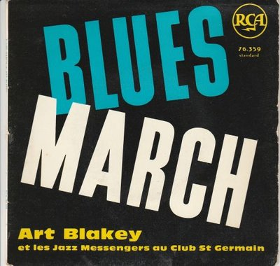 Art Blakey - Blues March (EP) (Vinylsingle)