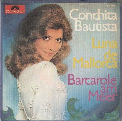 Conchita Bautista - Luna De Mallorca + Barcarole Am Meer (Vinylsingle)