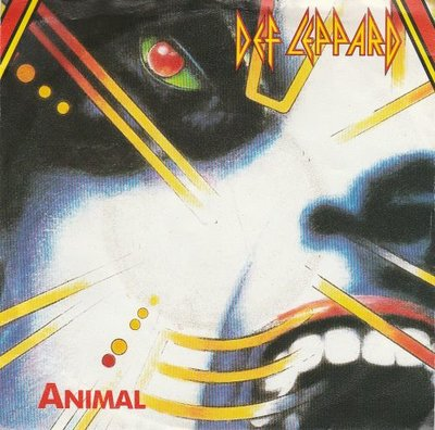 Def Leppard - Animal + Tear it down (Vinylsingle)