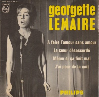 Georgette Lemaire - A Faire L'Amour Sans Amour (EP) (Vinylsingle)