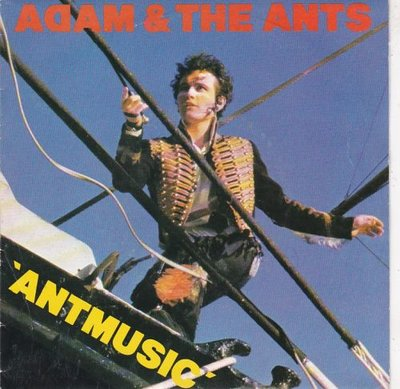 Adam Ant - Antmusic + Fall in (Vinylsingle)
