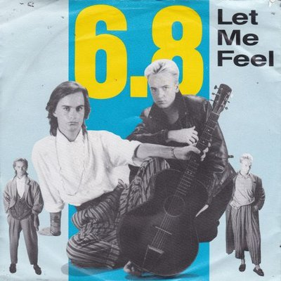 6.8 - Let me feel + (instr.) (Vinylsingle)