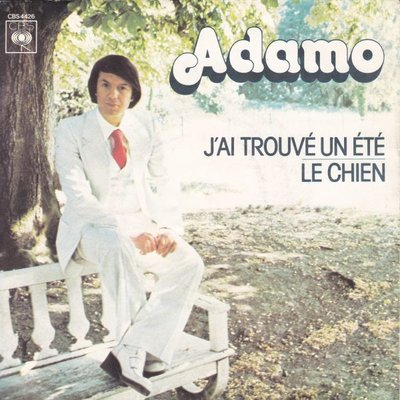 Adamo - J'ai trouve un ete + Le chien (Vinylsingle)