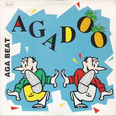 Aga Beat - Agadoo + New Year Techno (Vinylsingle)
