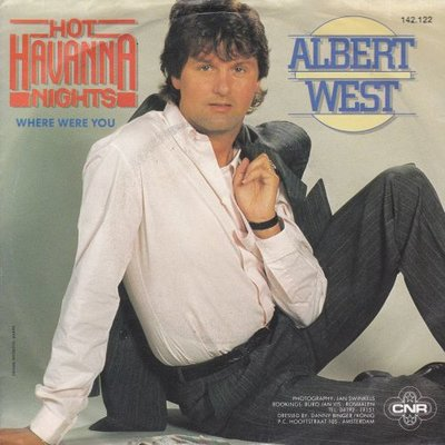 Albert West   - Hot havanna nights + Where were you (Vinylsingle)