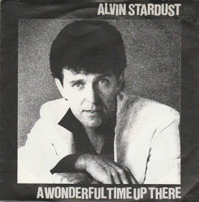 Alvin Stardust - A wonderful time up there + Love you so much (Vinylsingle)