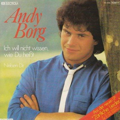 Andy Borg - Ich will nicht wissen, wie du heisst + Neben mir (Vinylsingle)