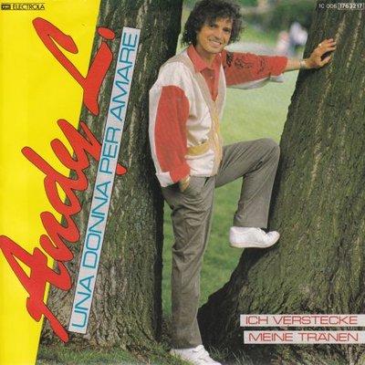 Andy L. - Una donna per amare + Ich verstecke meine tranen (Vinylsingle)