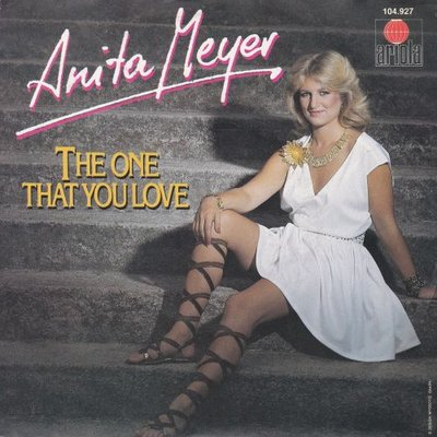 Anita Meyer - The one you love + Restless (Vinylsingle)