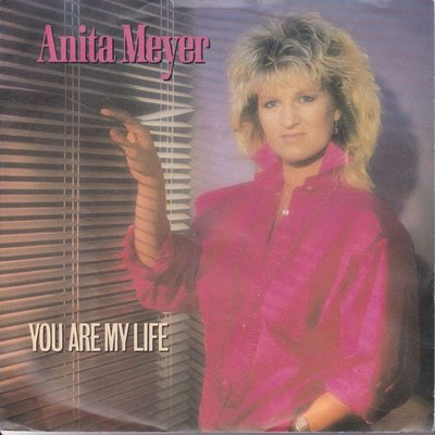 Anita Meyer - You are my life + Never gonna let you down (Vinylsingle)
