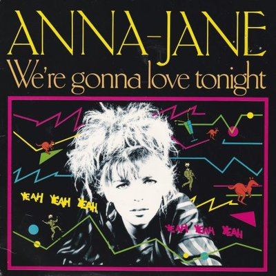 Anna-Jane - We're Gonna Love Tonight + (Version Instrumentale) (Vinylsingle)