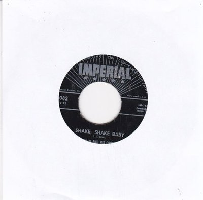 Archibald and his Orchestra - Shake Shake Baby + Ballin' With Archie (Vinylsingle)