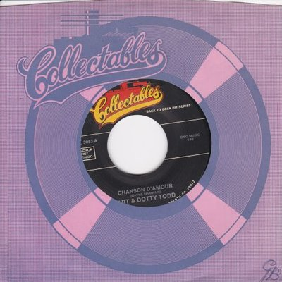 Art and Dotty Todd /Johnny Crawford - Chanson d'amour + Cindy's Birthday (Vinylsingle)