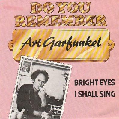 Art Garfunkel - Bright eyes + I shall sing (Vinylsingle)