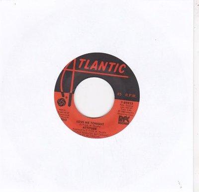 Attitude - Love Me Tonight + It's Good For Me (Vinylsingle)