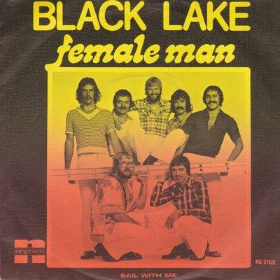 Black Lake  - Female man + Sail with me (Vinylsingle)