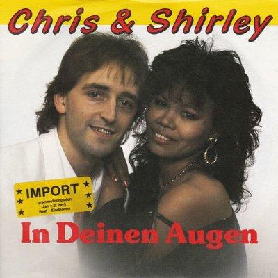 Chris & Shirley - In deinen augen + Let's play lovers tonight (Vinylsingle)