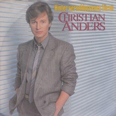 Christian Anders - Hinter verschlossen turen + Zu stolz (Vinylsingle)