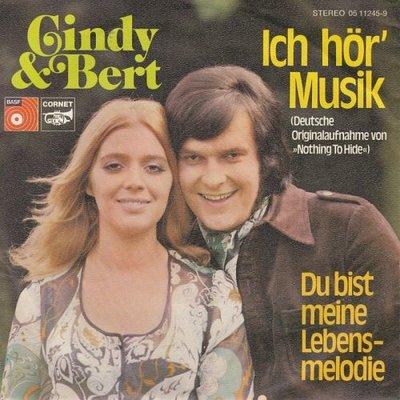Cindy & Bert - Ich Hor' Musik + Du Bist Meine Lebensmelodie (Vinylsingle)