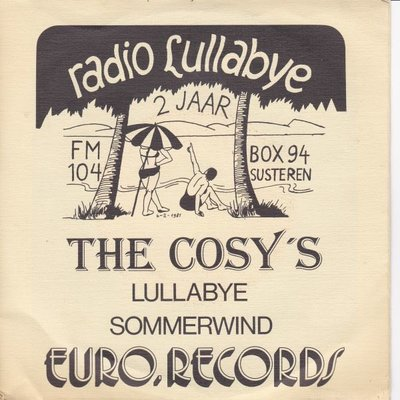 Cosy's - Lullabye + Sommerwind (Vinylsingle)