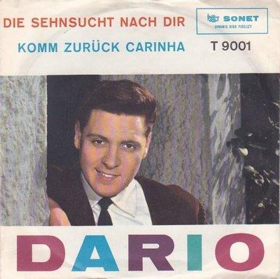 Dario - Die Sehnsucht Nach Dir + Komm Zurck Carinha (Vinylsingle)