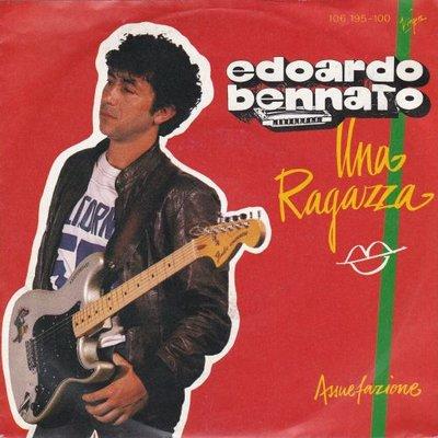 Edoardo Bennato - Una Ragazza + Assuefazione (Vinylsingle)