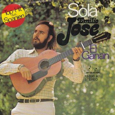 Emilio Jose - Sola + El ganan (Vinylsingle)