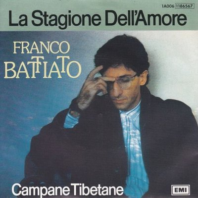 Franco Battiato - La Stagione Dell' Amore + Campane Tibetane (Vinylsingle)