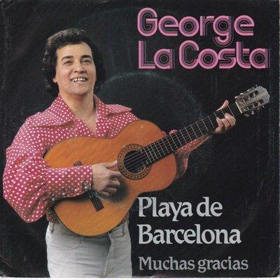 George La Costa - Playa de Barcelona + Muchas gracias (Vinylsingle)