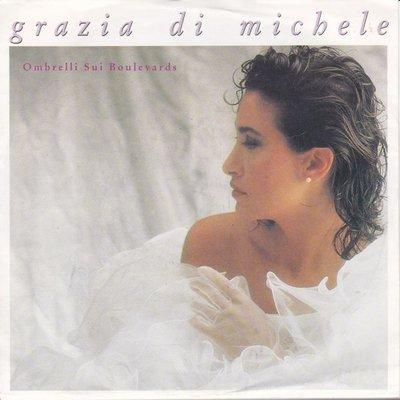 Grazia Di Michele - Solo I pazzi sanno amare + Ombrelli sui boulevards (Vinylsingle)