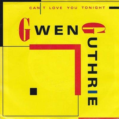 Gwen Guthrie - Can't Love You Tonight (Edit) + The Surgeon Generalïs 4/4 Beat (Vinylsingle)