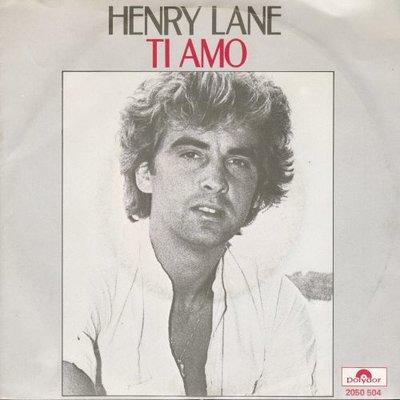 Henry Lane - Ti Amo + Yama Fantasio (Vinylsingle)