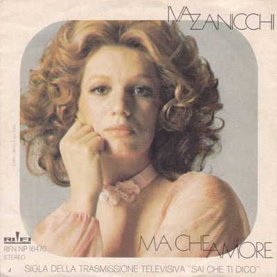 Iva Zanicchi - Ma che amore + Il mio bambino (Vinylsingle)