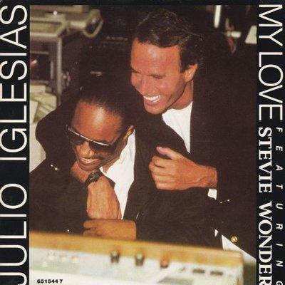 Julio Iglesias & Stevie Wonder - My love + Words and music (Vinylsingle)