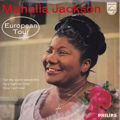Mahalia Jackson - Europian Tour (Vinylsingle)