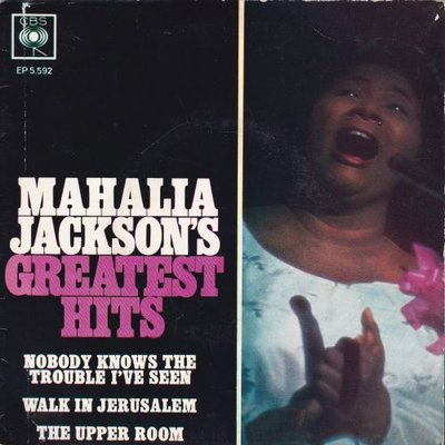 Mahalia Jackson - Greatest Hits (Vinylsingle)