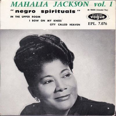 Mahalia Jackson - Negro Spirituals vol. 1 (Vinylsingle)