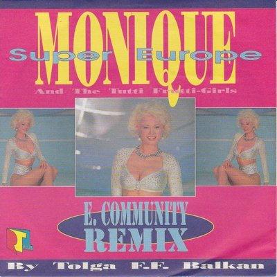 Monique - Super Europe + (instr.) (Vinylsingle)