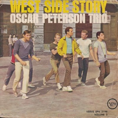 Oscar Peterson Trio - West side story vol 2. (Vinylsingle)