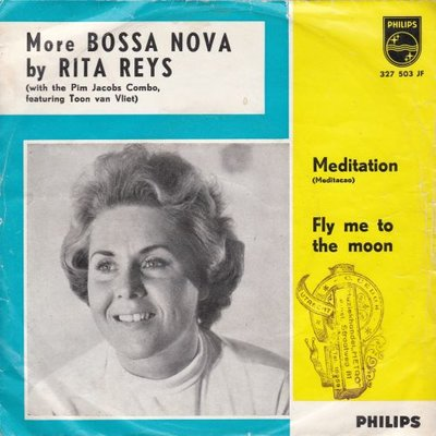 Rita Reys - Mediation (Meditacao) +Fly Me To The Moon (Vinylsingle)