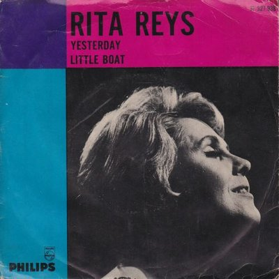 Rita Reys - Yesterday + Little boat (Vinylsingle)