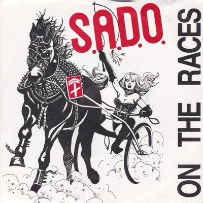 S.A.D.O. - On the races + I'll never blue (Vinylsingle)