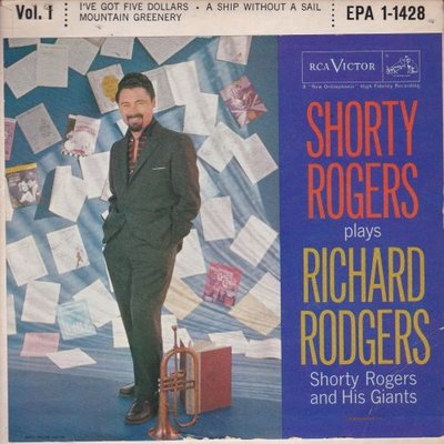 Shorty Rodgers - Plays Richard Rodgers (Vinylsingle)