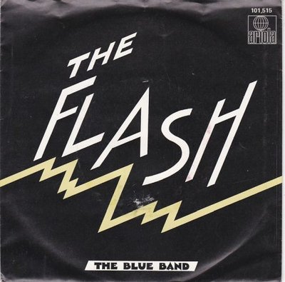 Blue Band - The Flash + Note On The Door (Vinylsingle)