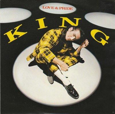 King - Love and pride + Don't stop (Vinylsingle)