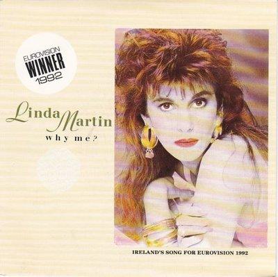 Linda Martin - Why me? + Shades of blue (Vinylsingle)