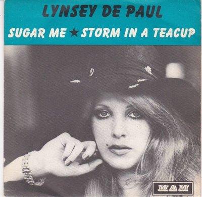 Lynsey de Paul - Sugar me + Storm in a teacup (Vinylsingle)