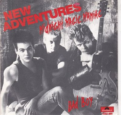 New Adventures - Midnight magic maniac + Bad boy (Vinylsingle)