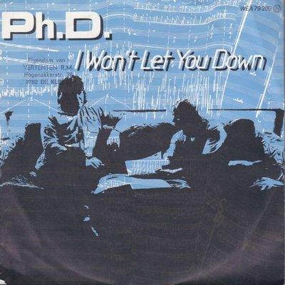Ph. D. - I won't let you down + Hideaway (Vinylsingle)