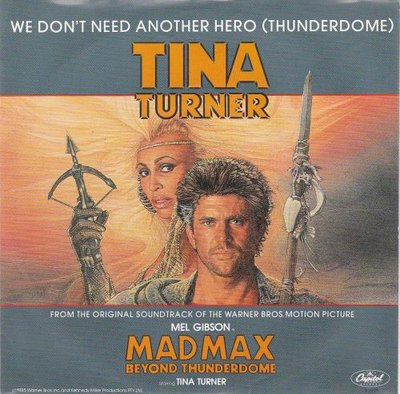 Tina Turner - We don't need another hero + (instr.) (Vinylsingle)